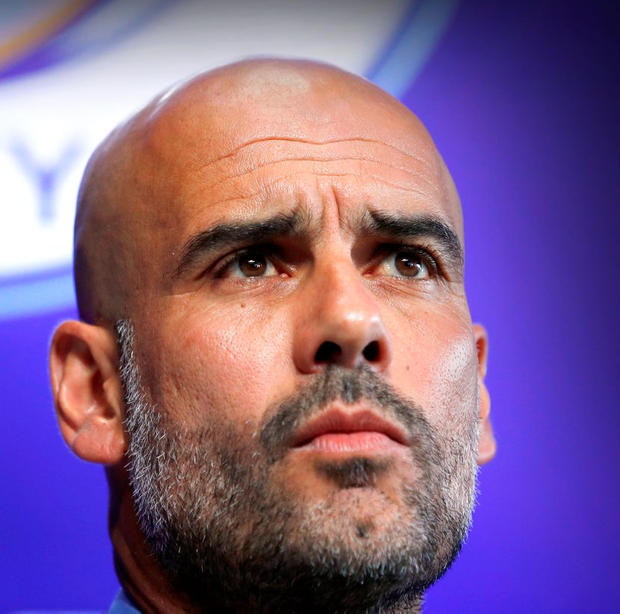 Manchester City boss Pep Guardiola. Photo: Phil Noble