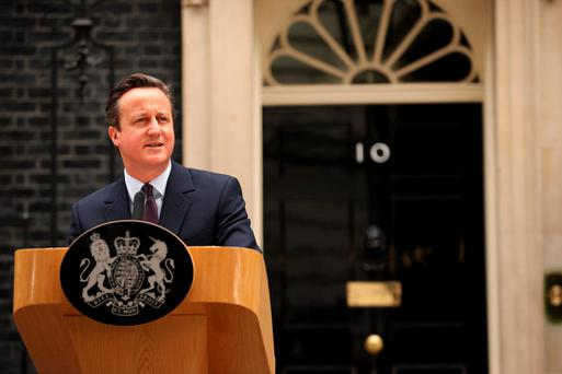 British premier David Cameron Picture: Getty