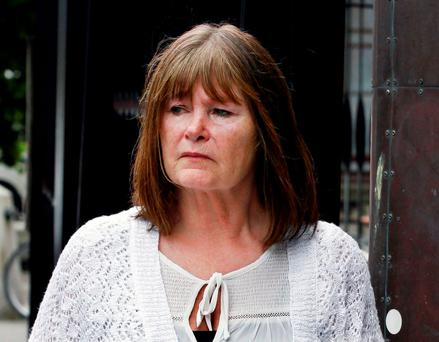 Dee Kenny of Watson Drive, Killiney, Co. Dublin leaving court after the hearing. (Pic: CourtPix.)