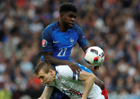 France's Samuel Umtiti has been a star of Euro 2016 so far