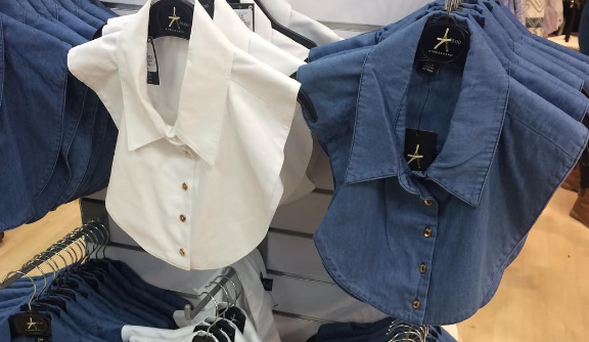Penney's 'dickie' shirt. Photo: Catherine O'Reilly / Instagram