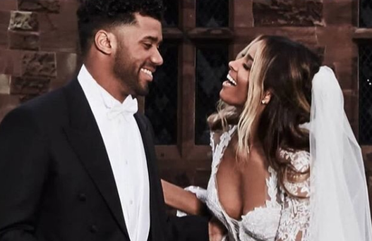 Ciara and Russell Wilson Get Married!
