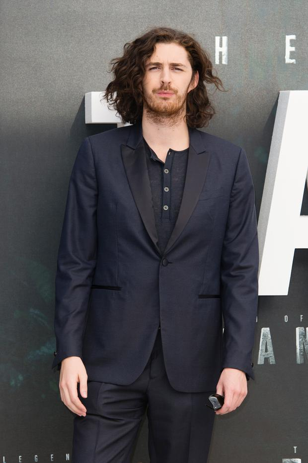 Hozier attends the European premiere of