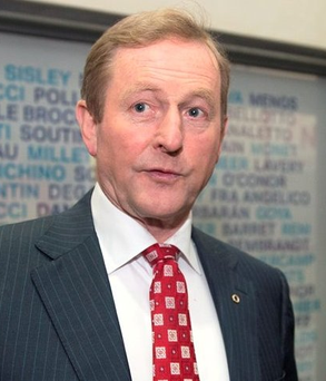'For his part, Mr Kenny has shown strong leadership in the past. He rebuilt a shattered Fine Gael party, despite sneering in some quarters. He carefully nursed it back to health and a position of strength. Then, when Fianna Fail imploded, Fine Gael was able to sweep into power' Photo: Arthur Carron