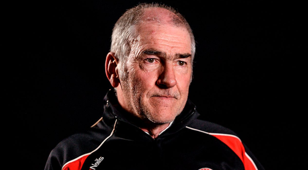 'If anyone can improvise a solution, it is Harte.' Picture credit: Oliver McVeigh / Sportsfile