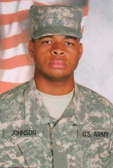The gunman, former US army reservist Micah Xavier Johnson Photo: AFP PHOTO / HANDOUT