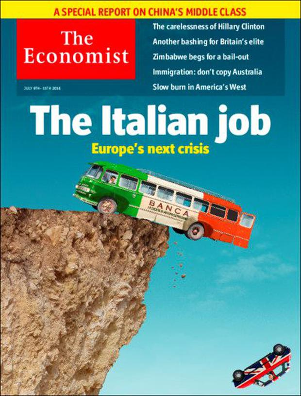 The ominous cover of last week's 'Economist' magazine