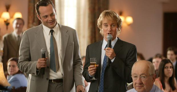 A scene from Wedding Crashers