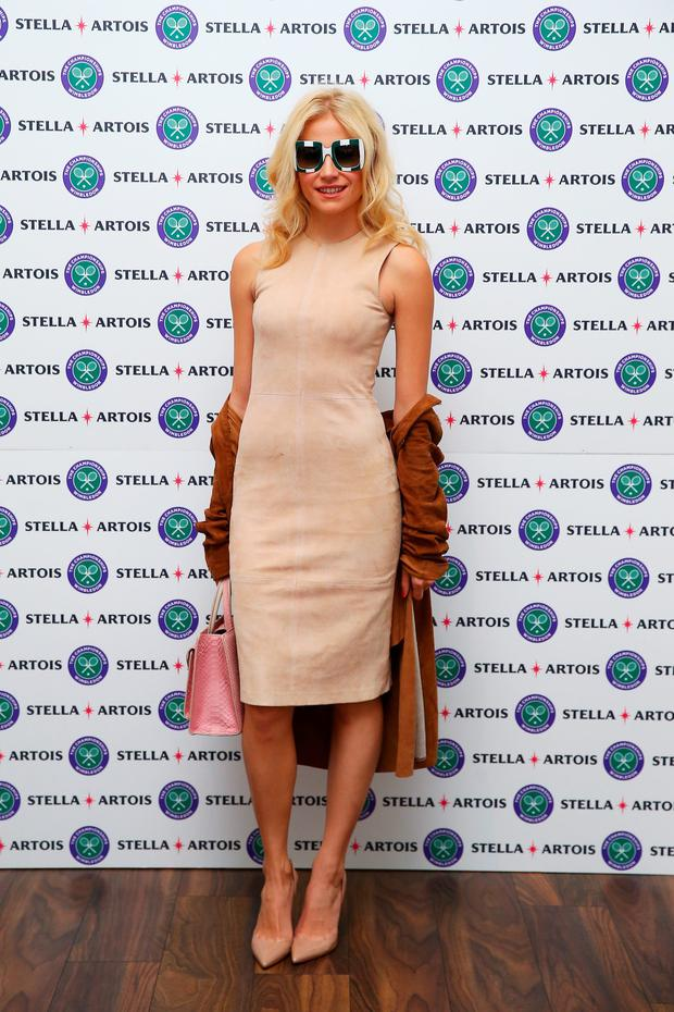 Pixie Lott attends The Championships, Wimbledon, with Stella Artois on July 10, 2016 in London.. (Photo by Jordan Mansfield/Getty Images)