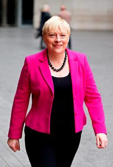 Angela Eagle: leadership bid. Photo: Reuters