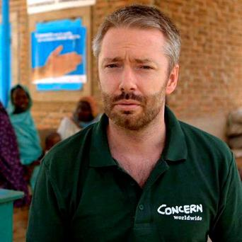 Feargal O'Connell, Concern country director for South Sudan: 'intense firing'