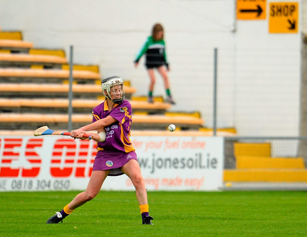 Until Una Leacy's goal, the veteran Kate Kelly (Stock photo) had run the show. Photo: Sportsfile