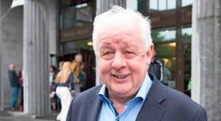Jim Sheridan in Galway to give a talk for the Film Fleadh. Photo: Andrew Downes