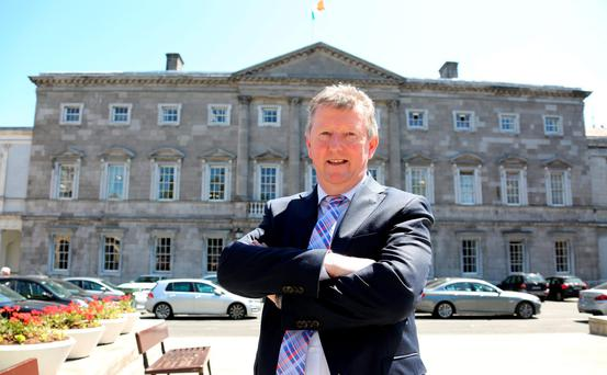 Independent Alliance junior minister Seán Canney. Photo: Tom Burke