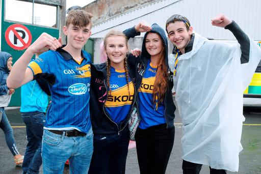 Raymond Hennessy, Robyn Hackett, Lauren Fogarty and Kevin Quirke from Tipperary. Photo: Gareth Williams