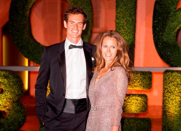 Andy Murray and his wife Kim arriving at the Wimbledon Champions Dinner 2016, at the Guildhall, London
