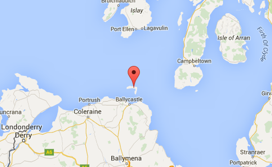 Rathlin Island. Photo: Google maps
