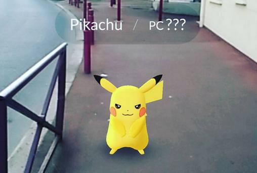 Pokemon Go. Picture: MarieCPalot/Instagram