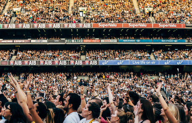 Fans at Croke Park for the Formation World Tour. Photo: Andrew White / Beyonce.com