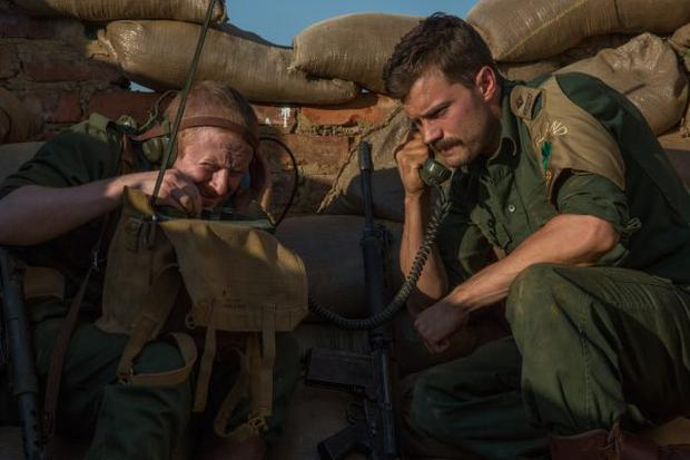 Jamie Dornan as Pat Quinlan in Jadotville