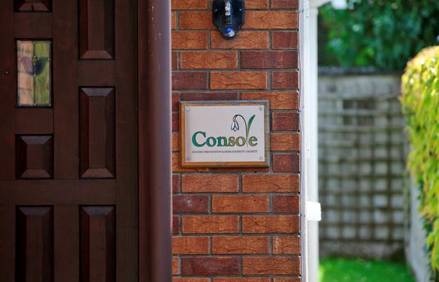 The list of assets features the Console headquarters, a five-bed house in Whitethorn Grove, Celbridge, Co Kildare. Photo: Colin Keegan, Collins Dublin.
