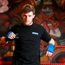 Eanna Walsh from Kildare pictured during a break in his MMA training at the SBG gym on the Naas Road, Dublin.