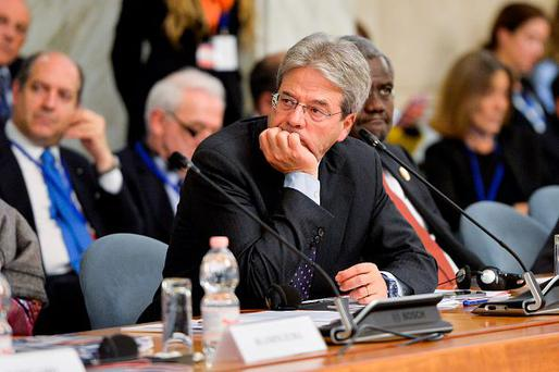Paolo Gentiloni. Photo by Silvia Lore/NurPhoto via Getty Images