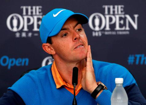Rory McIlroy and the rest of the Olympic male refuseniks have come under attack from the women's game, with a top official claiming 'they have let down the rest of the sport very badly'. Photo: Reuters