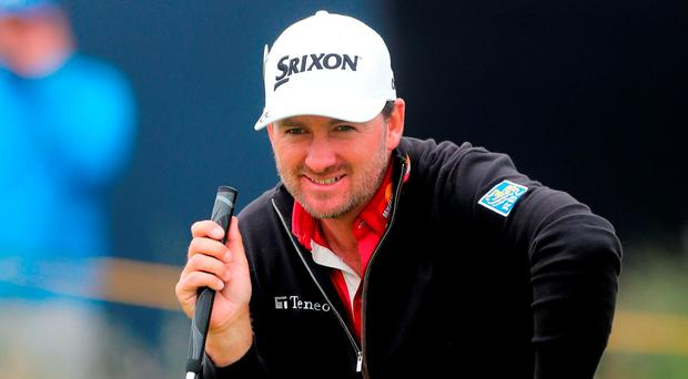 Graeme McDowell stands on the putting green at Troon having played a practice round alongside Shane Lowry and shakes his head at how quickly the time has passed. Photo: PA