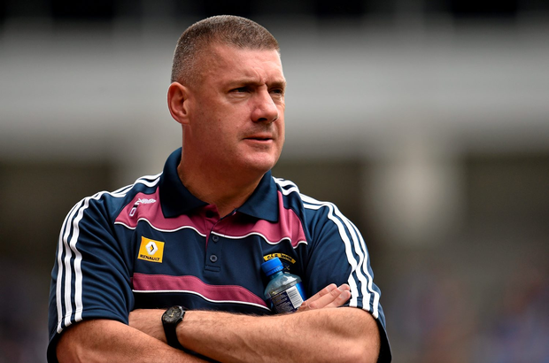 Westmeath manager Tom Cribbin. Picture: Cody Glenn / SPORTSFILE