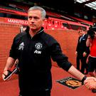 Jose Mourinho is excited about the new season with United. Photo: Tim Goode/PA Wire.