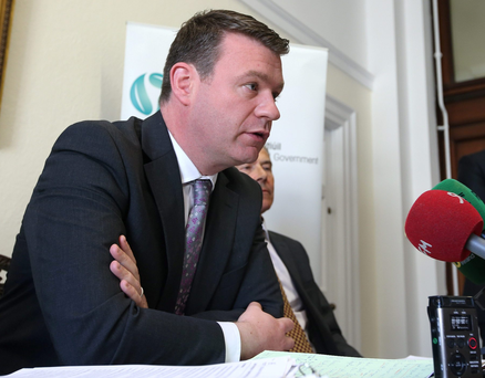 Alan Kelly argued that if charges are scrapped it will result in 'fines on a scale that we haven't seen before'. Photo: Damien Eagers