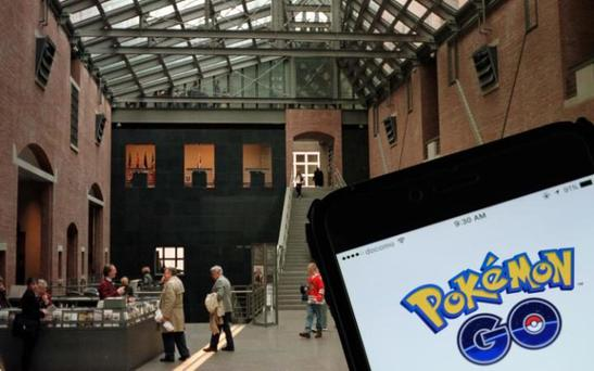 The Holocaust Museum in Washingto DC, where Pokémon Go players have been spotted in recent days Credit: Bloomberg/Justin Sutcliffe