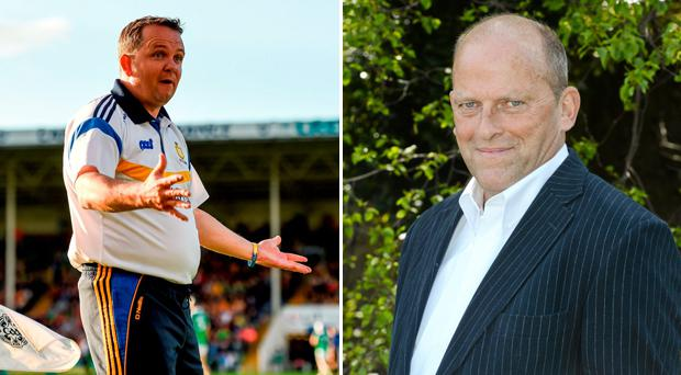Current Clare manager Davy Fitzgerald and former Banner boss Ger Loughnane