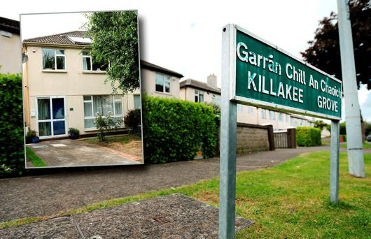 Killakee, Firhouse where human remains were discovered. Picture; Gerry Mooney