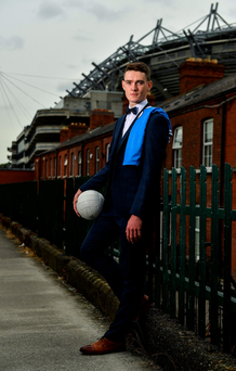 Dublin's Brian Fenton at the recent announcement of the GAA/GPA's continuing partnership with Best Menswear. Photo: Sportsfile