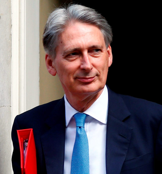 Phillip Hammond Photo: REUTERS/Neil Hall