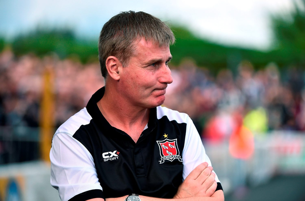 Stephen Kenny manager of Dundalk. Photo: Sportsfile