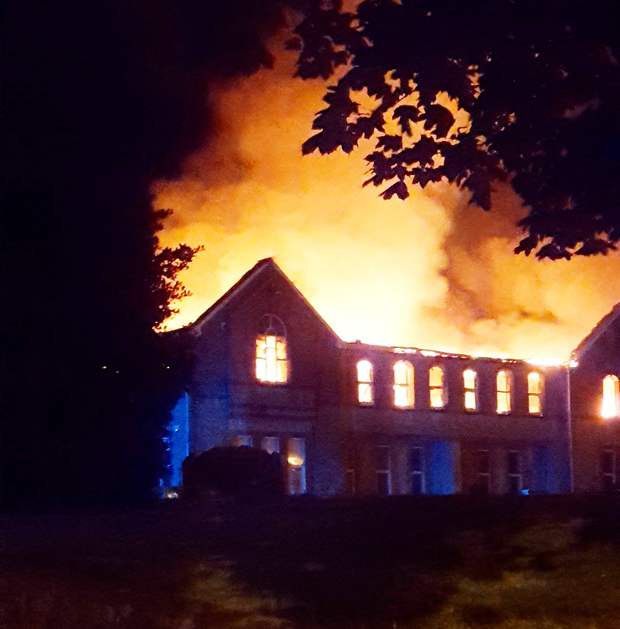 The school was unoccupied and nobody was injured in the blaze Photo: Provision