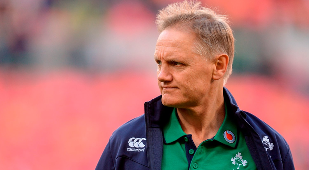 Joe Schmidt is currently weighing up whether to extend his contract with Ireland. Picture Credit: Brendan Moran/Sportsfile