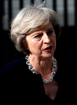New British Prime Minister Theresa May Photo: REUTERS/Peter Nicholls