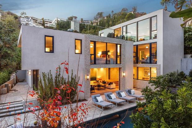 Kendall's €7.3m West Hollywood home which she purchased from Emily Blunt and her husband John Krasinski.