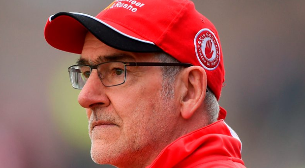Tyrone manager Mickey Harte. Photo: Ramsey Cardy/Sportsfile
