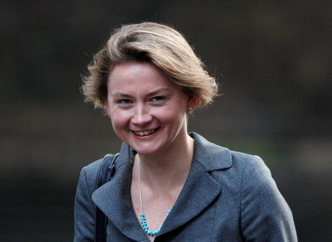 Labour MP Yvette Cooper. Photo: Reuters