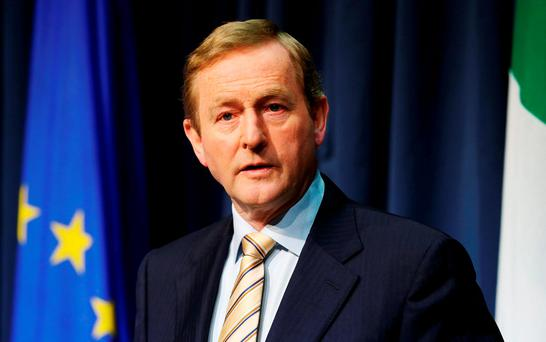 Taoiseach raises prospect of Irish border poll