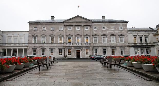 The Dáil is to close for almost nine weeks from next Thursday to facilitate a €700,000 upgrade that will enable us hear the politicians better. Photo: AFP/Getty