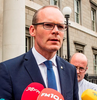 Housing and Local Planning Minister Simon Coveney. Photo: Arthur Carron