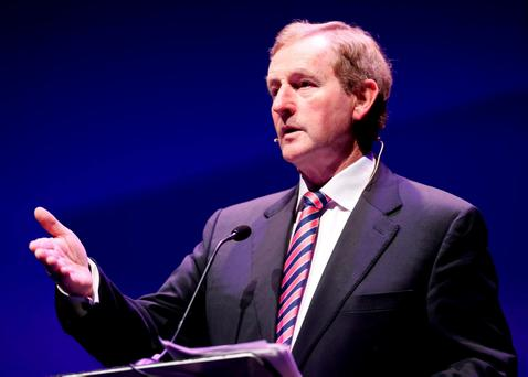 Taoiseach Enda Kenny. Photo: Conor McCabe