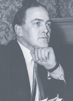 Donogh O'Malley, who announced his free education scheme in 1966. Photo: Currach Press