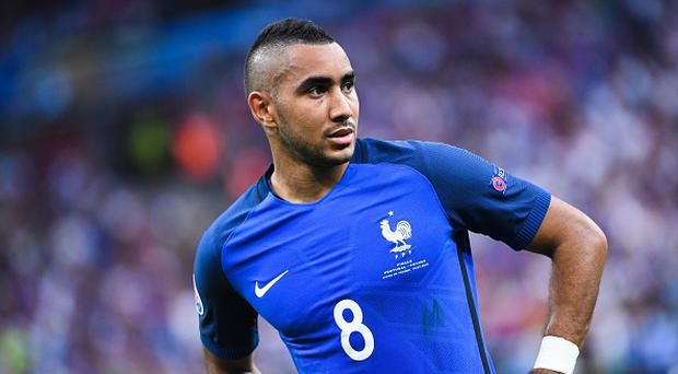 Dimitri Payet of France during the European Championship Final between Portugal and France at Stade de France on July 10, 2016 in Paris, France. (Photo by Nolwenn Le Gouic/Icon Sport) (Photo by Nolwenn Le Gouic/Icon Sport via Getty Images)
